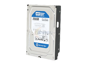 Wd2500Aakx 250Gb(Blue)